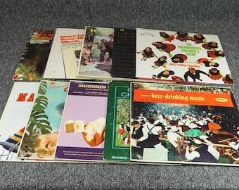 Vintage Assorted Lot Of German Vinyls - 12 Records