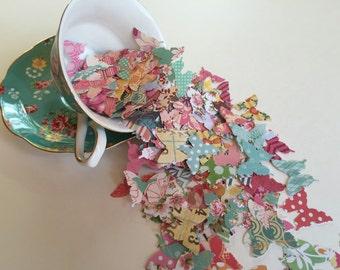 100 Paper butterflies, butterfly confetti, pretty butterflies