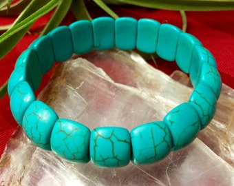 Howlite Turquoise bracelet