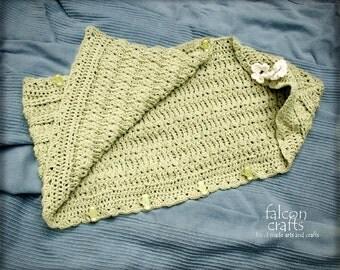 handmade crochet baby sleep sack,pale green soft acrylic yarn,buttoned acrylic new born sleep sack with hood,green,crochet baby sleep sack