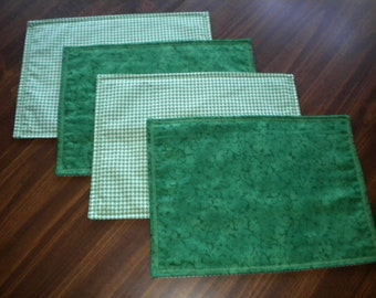 Placemats - Irish All Year Reversible and Embroidered Placemats (set of 4) - #PS-011