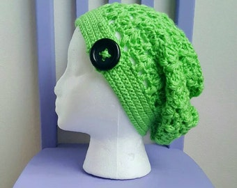 Clover Puff Slouchy Beanie - PDF FILE ONLY - Instant Download