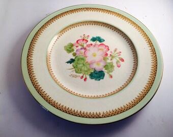 Ducal antique plate.