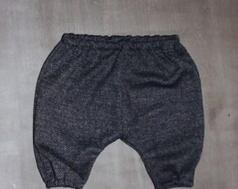 sarouel trousers mixed chevron