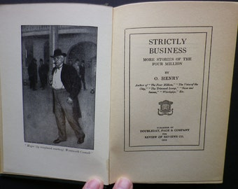 Strictly Business by O. Henry, 1913