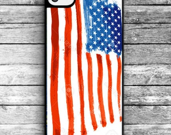 American flag iPhone case/ Unique iPhone case/ iPhone 4/4S, iPhone 5/5S, iPhone 5c, iPhone 6/6s/6 Plus/6s Plus iphone 7/7 Plus - NAT-003