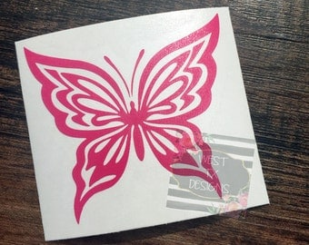 Butterfly Decal | Car Window Decal | Yeti Decal | Butterfly Sticker | Laptop Decal | New Life