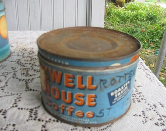 Maxwell Coffee Vintage Collectible Tin Advertising
