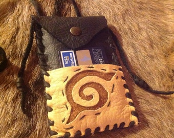 Leather Smartphone bag iphone 4-5 case Wallet  pouch