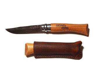 Opinel Sheath - Handmade Leather Sheath for No.7 Opinel