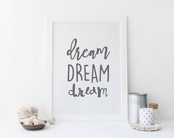 Dream Drawing Print