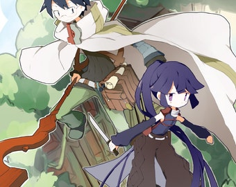 "Log Horizon 11""x17"" Poster Print"