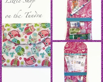 Peek-A-Boo Zippered Pouch FREE SHIPPING