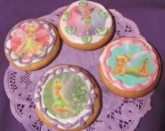Fairy Tink sugar cookies