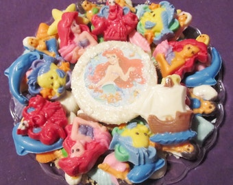 Pretty Mermaid chocolates candy trays