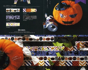 Happy Halloween washi masking tape/ Pre-order