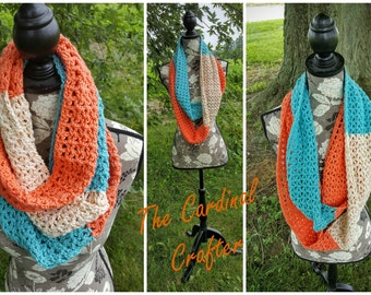 Coral Reef Infinity Scarf