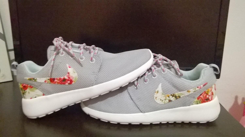 d41970b0640 Nike Roshe Trainers Shoes Womens Running Shoe Brwon White