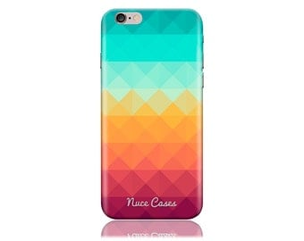 HTC M10 Case #Pixel Waves Cool Design Hard Phone Case