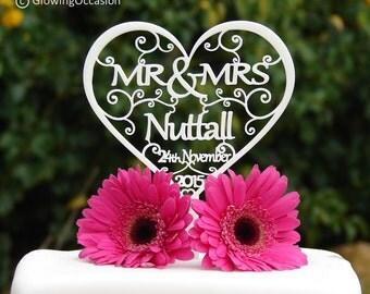 Cake Toppers Etsy Uk : Wedding cake topper   Etsy UK