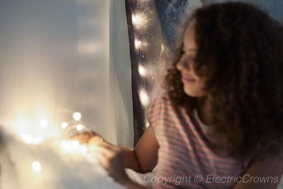 Home Decor opknoping lichten Fairy verlichting door ElectricCrowns