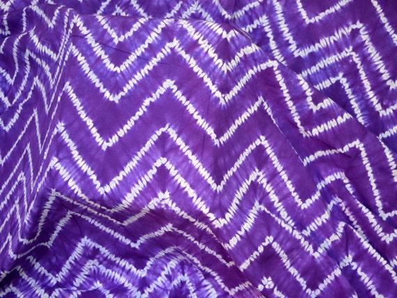 Shibori Fabric Hand Dyed Fabric Tie Dye Cotton Fabric By