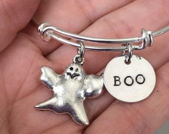 Halloween ghost bracelet