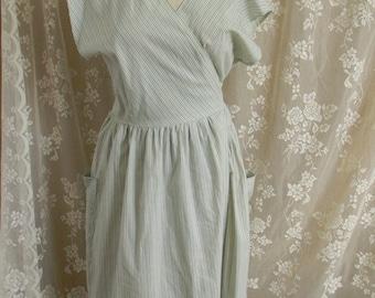 Vintage 1950's Wrap Dress