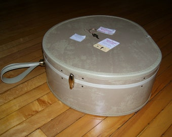 Samsonite Streamlite, Samsonite Overnight, Samsonite Round Hatbox, Vintage Luggage 50s