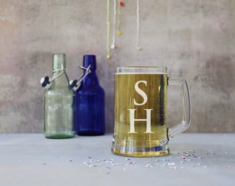 Personalised Monogram 1 Pint Stein Tankard