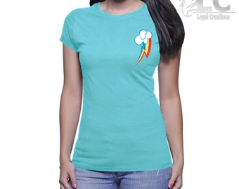 My Little Pony-Rainbow Dash Cutie Mark T-Shirt