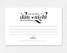 Date Night Ideas Card, Date Night Card, Wedding Advice Card, Wedding Advice Printable, Marriage Advice , PDF Instant Download #BPB42_16