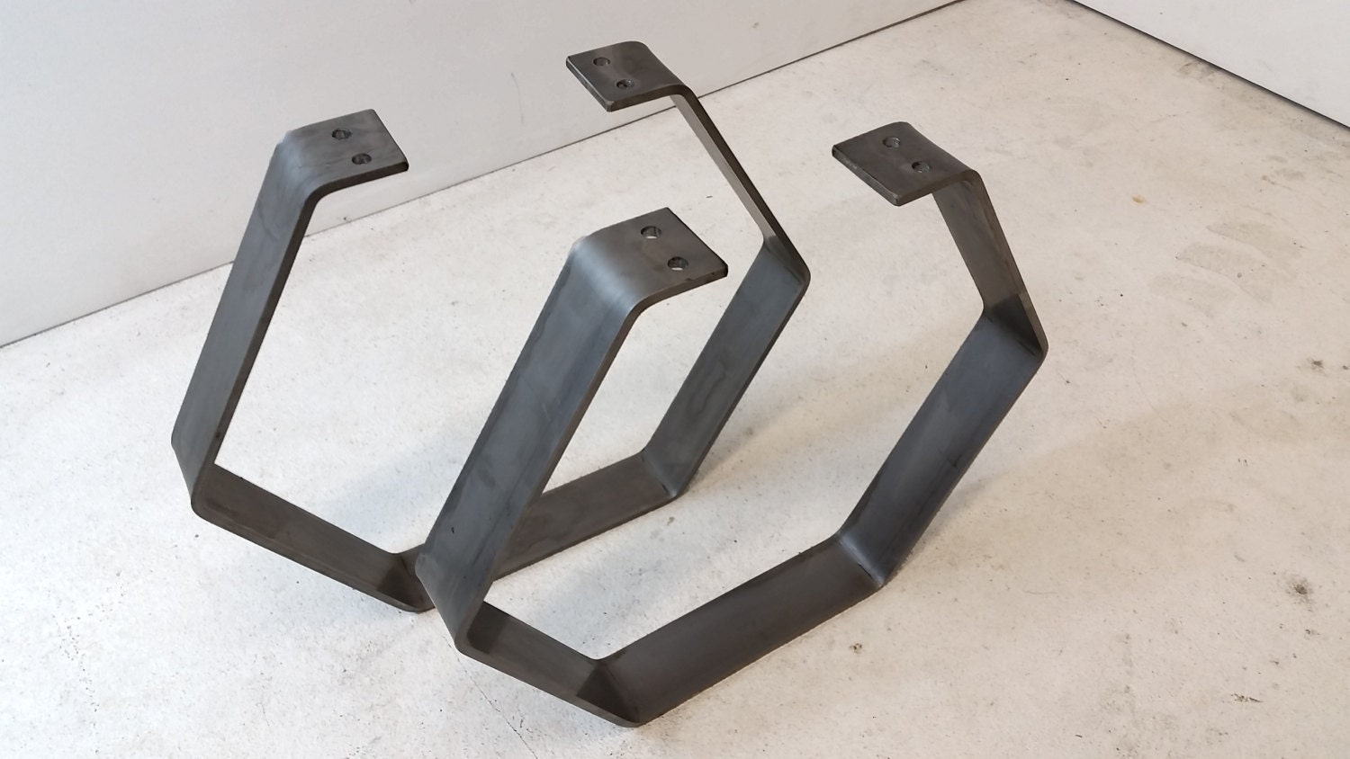 Free Shipping Steel Hexagon Coffee Table Legs