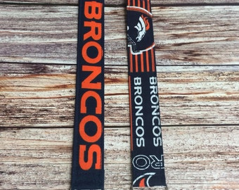 Denver Broncos Pacifier Clips for your Binky