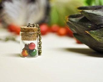VEGETABLES: VEGETABLE lovers necklace