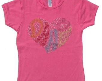 Lizatards Dance Shirt Girls  Medium (10-12), Large (14-16)