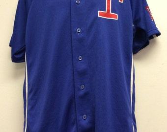 Texas Rangers #34 Nolan Ryan Jersey Size M