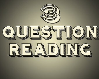 3 Question Same Day Reading