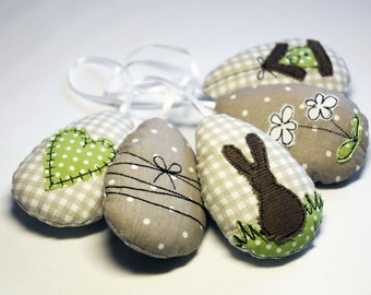 ITH set Easter eggs 12 x 12 - embroidery - in the hoop