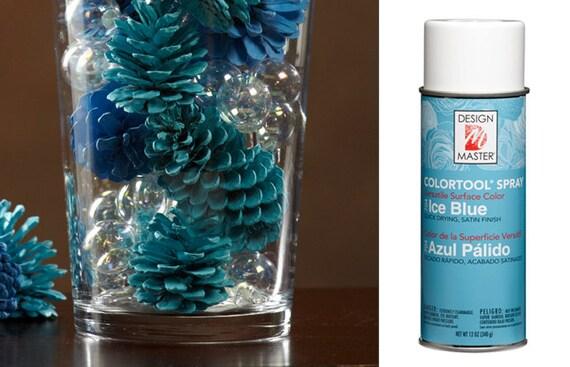 Ice Blue Design Master Colortool Spray Paint Craft Spray