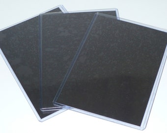 """10 Magnetic Photo Protector Sleeves 4"""" x 6"""""""