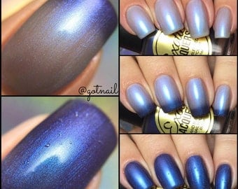 THERMAL PURPLE HAZE  -Multi-Chrome Color Shifting Nail Polish Puple, Green, Blue, Cyan