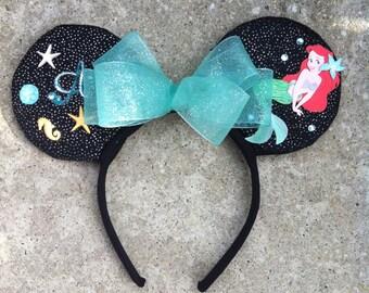 Little Mermaid Ariel Mickey Ears