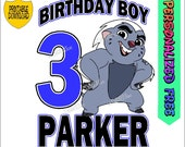 The Lion Guard Birthday Printable Iron On Transfer Personalized  Shirts Clip Art fd199