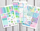 Succulents Weekly Kit Planner Stickers Designed for the Erin Condren Life Planner Vertical