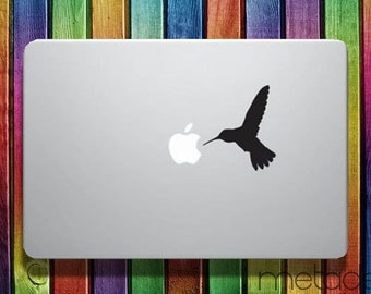 """Hummingbird Macbook Sticker Decal for 11"""", 13"""" and 15"""" - macbook stickers, laptop stickers, macbook decals, macbook sticker, apple stickers"""