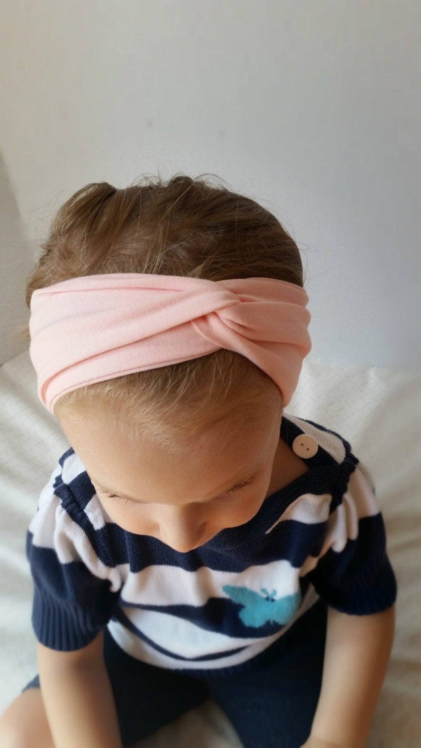 how to style baby hair on adults pink turban headband baby hair accessory turban 5978 | il fullxfull.1031329616 4lao