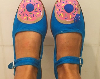 Frosted Donut Shoes