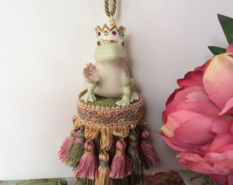 Frog Prince Decorative Tassel