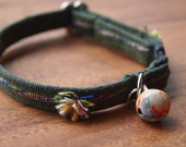 Dark Green Breakaway Cat Collar